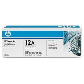 HP 12A 2-pack Black Original LaserJet Toner Cartridges with UltraPrecise Toner