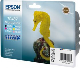 Epson T0487 Multipack Ink Cartridges