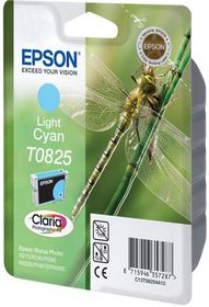Epson T0825 Light Cyan Claria Ink Cartridge