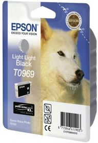 Epson T0969 Light Light Black Ink Cartridge