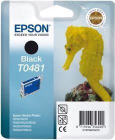 Epson T0481 Black Ink Cartridge (Sea Horse)