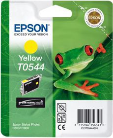 Epson T0544 Yellow UltraChrome Ink Cartridge (Frog)