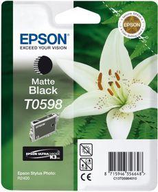 Epson Singlepack Matte Black T0598 UltraChrome K3