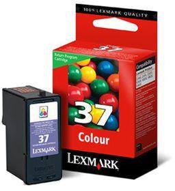 Lexmark 37 Colour Ink Cartridge