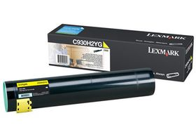 Lexmark High-Capacity Yellow Toner Cartridge for C935
