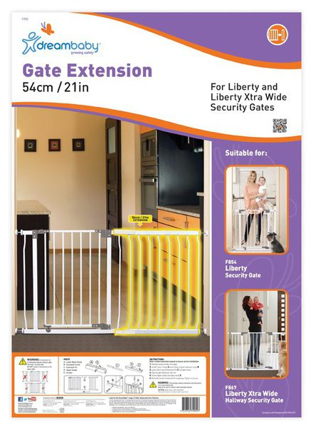 Dreambaby - 54cm Gate Extention - F1955