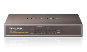 TP-LINK 8-port 10/100 PoE Switch
