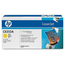 HP Color LaserJet CE252A Yellow Print Cartridge with ColorSphere Toner