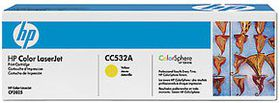 HP Color LaserJet CC532A Yellow Print Cartridge with ColorSphere Toner