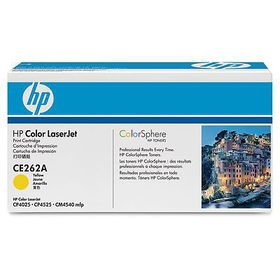 HP Color LaserJet CE262A Yellow Print Cartridge with ColorSphere Toner