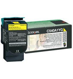 Lexmark C540A1YG Yellow Laser Toner Cartridge