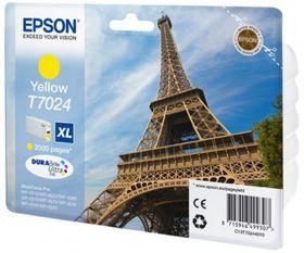 Epson T7024 XL Yellow Ink Cartridge (Eiffel Tower)