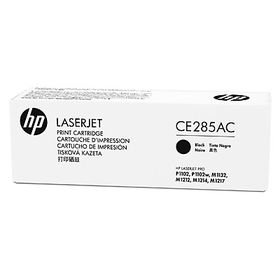 HP CE285AC Black Contract Original LaserJet Toner Cartridge with Smart Printing Technology
