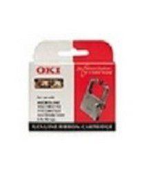 OKI High quality black ribbon cartridge ML 6300 Flatbed, NON-EU