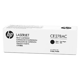 HP CE278AC Black Contract Original LaserJet Toner Cartridge with Smart Printing Technology