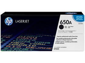 HP 650A Black Contract LaserJet Toner Cartridge