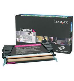 LEXMARK C736 / X736 / X738 Magenta High Yield Return Programme Toner Cartridge - 10 000 pgs