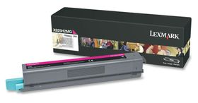 LEXMARK X925 Magenta High Yield Toner Cartridge - 7 500 pgs