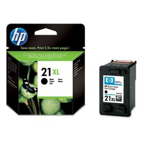 HP # 21XL Black Ink Cartridge Blister Pack