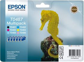 Epson T0487 Multipack Ink Cartridges