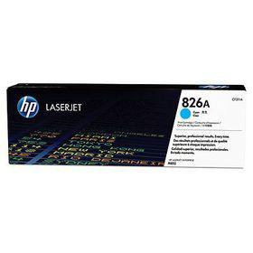 HP # 826A CLJ M855 Cyan Print Cartridge. Approximate cartridge yield 31500 pgs based on 5% coverage