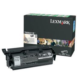 Lexmark T650A11E Black Laser Toner Cartridge