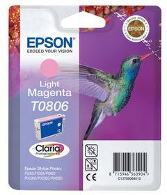 Epson T0806 Light Magenta Claria Photographic Ink Cartridge