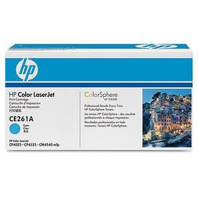 HP # CE261AC Cyan Contract LaserJet Toner Cartridge