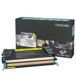 LEXMARK C734 / C736 / X734 / X736 / X738 Yellow Return Programme Toner Cartridge - 6 000 pgs