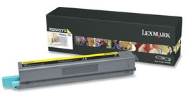 LEXMARK X925 Yellow High Yield Toner Cartridge - 7 500 pgs