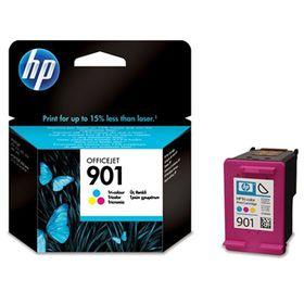HP # 901 Tri-colour Inkjet Print Cartridge Blister Pack