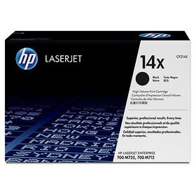 HP # 14X HP LJ Enterprise 700 M712 Series Black Print Cartridge - New