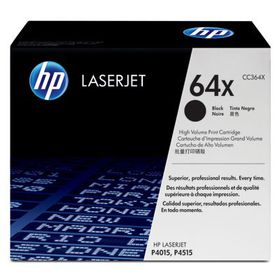 HP # CC364XC Black Contract LaserJet Toner Cartridge
