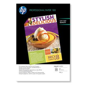 HP Professional Glossy 180gsm Inkjet Paper - A3 (50 Sheets)