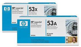 HP # Q7553XC Black Contract LaserJet Toner Cartridge