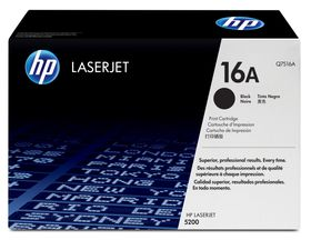 HP # Q7516AC Black Contract LaserJet Toner Cartridge