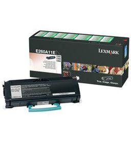 LEXMARK E260 / E360 / E460 Return Program Toner Cartridge - 3 500 pgs