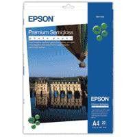 EPSON - Media - (A4) - (20 Sheets) - Premium Semi Gloss Photo Paper - 251g/m