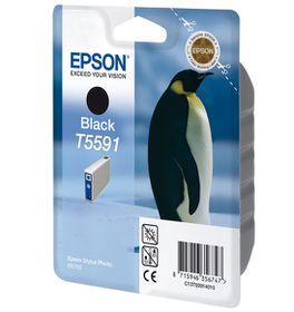 EPSON - Ink - T5591 - Black - PENGUIN - Stylus Photo RX7000