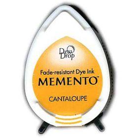 Tsukineko Memento Dew Drop Ink Pad - Cantaloupe