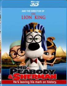 Mr Peabody & Sherman (3D Blu-ray)