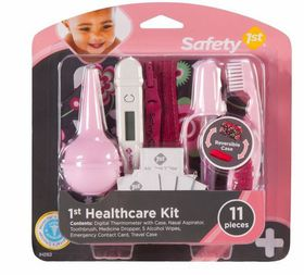 Safety 1st - Baby's 1st Healthcare Kit - Raspberry