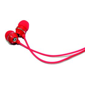 Jivo Jellies In Ear Headphones - Strawberry Red