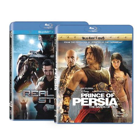 Prince Of Persia Real Steel Bundle Blu Ray Dvd Combo Buy Online In South Africa Takealot Com