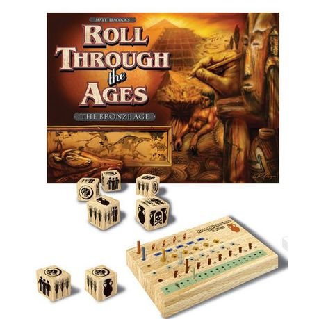Bookshelf Series Roll Through The Ages Bronze Age Game