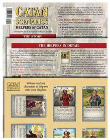 Catan Scenarios Helpers of Catan Board Game