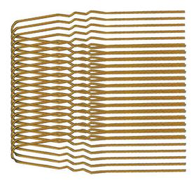 Chic Fine Wavy Hair Pins 35 Pack - 51mm Brown