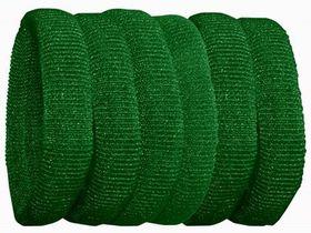 Chic Harmfree Thin Hairing Band 6 Pack - Bottle Green