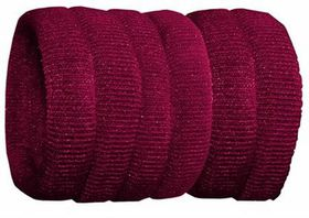Chic Harmfree Thin Hairing Band 6 Pack - Maroon