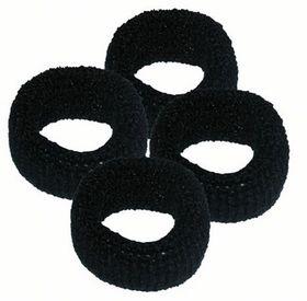 Chic Harmfree Hairing Band 4 Pack - Black